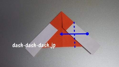 サンタの折り紙の簡単な折り方52