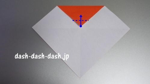 サンタの折り紙の簡単な折り方42