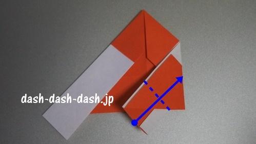 サンタの折り紙の簡単な折り方53
