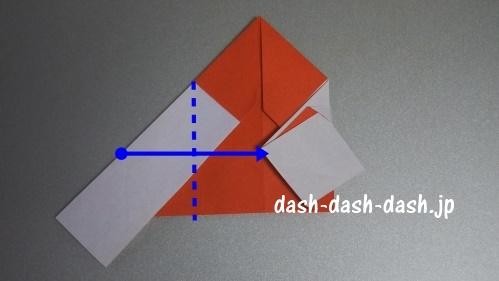 サンタの折り紙の簡単な折り方57