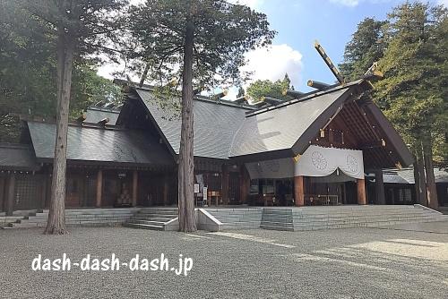 北海道神宮の本殿・拝殿