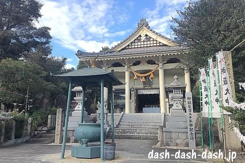 岩崎御嶽社拝殿