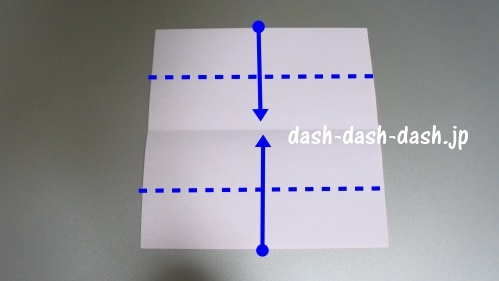 リボンの折り紙の折り方004