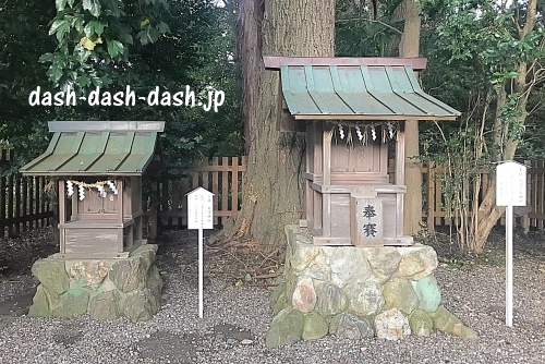 荒羽々気神社(砥鹿神社里宮)