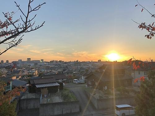 富士社からの眺め