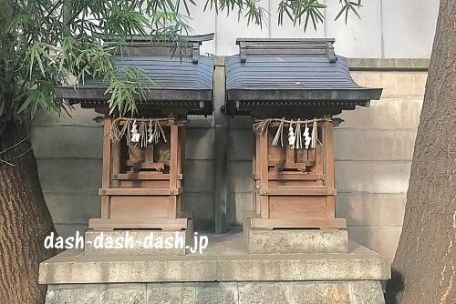 戸隠社春日社・八幡社(朝日神社)