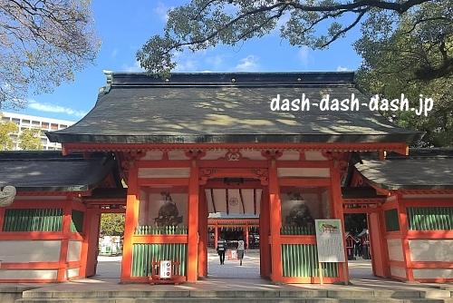 住吉神社(福岡)神門