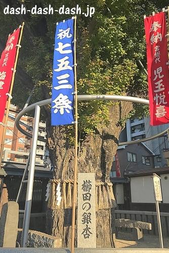 櫛田のぎなん(櫛田神社パワースポット)01
