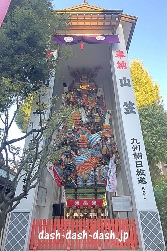 櫛田神社の飾り山笠05