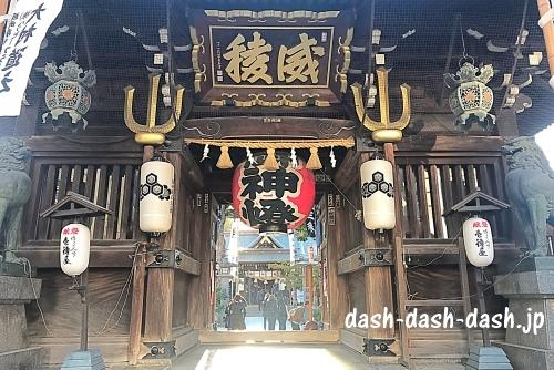 櫛田神社楼門01