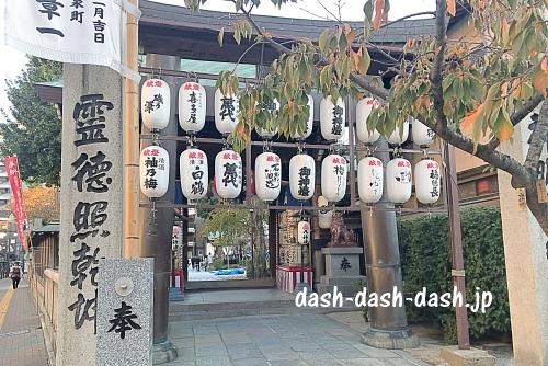 櫛田神社北神門02