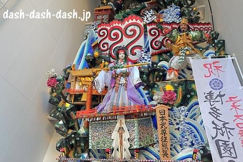 櫛田神社の飾り山笠04