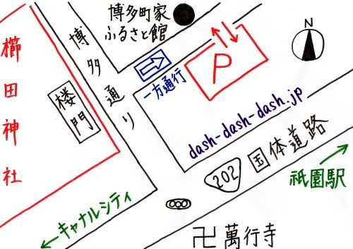 櫛田神社参拝者駐車場01