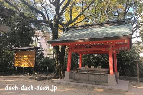 住吉神社(福岡)手水舎