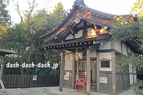 富士社拝殿(本殿)