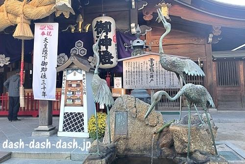 霊泉鶴の井戸(櫛田神社パワースポット)01