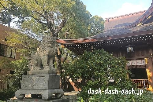 若宮八幡社狛犬