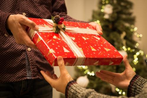 クリスマスプレゼント(手元)