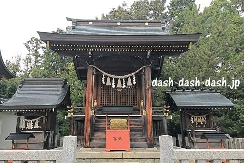 景行天皇社末社(津島社・神明社・白山社)