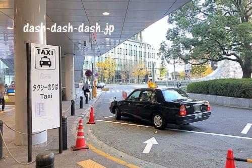 名古屋駅から熱田神宮へのタクシーでのアクセス(桜通口タクシー乗り場)