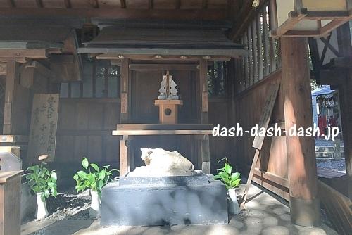洲崎神社(名古屋)の十二支の像(丑)01