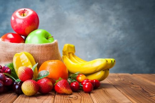 フルーツ盛り合わせ(たくさんの果物)