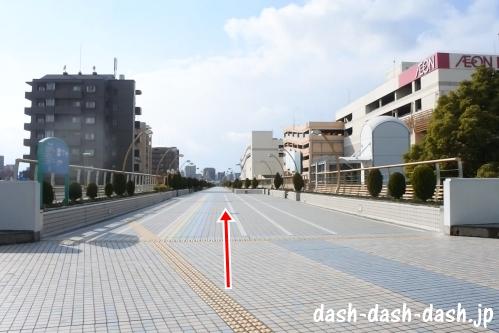 ナゴヤドームからJR大曽根駅(南口)の行き方01