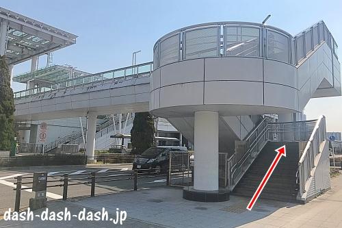 大曽根駅からナゴヤドームの徒歩での行き方04