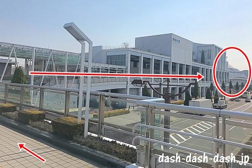 大曽根駅からナゴヤドームの徒歩での行き方05