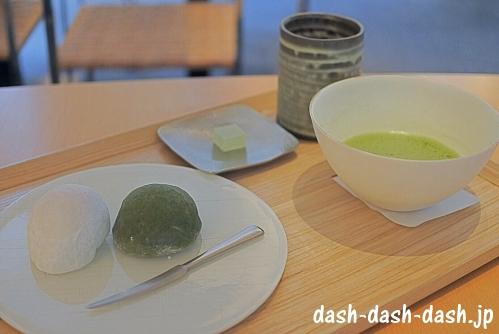菓匠 花桔梗本店(いちご餅・よもぎ餅)01