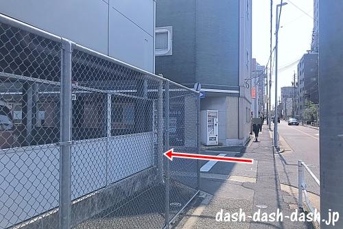 JR大曽根駅(南口)からナゴヤドームの行き方02
