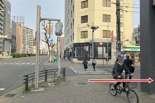 新栄町駅からダイアモンドホールの行き方01