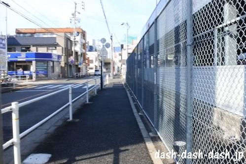 ナゴヤドームからJR大曽根駅(南口)の行き方09