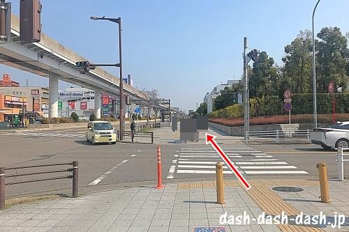 大曽根駅からナゴヤドームの徒歩での行き方02