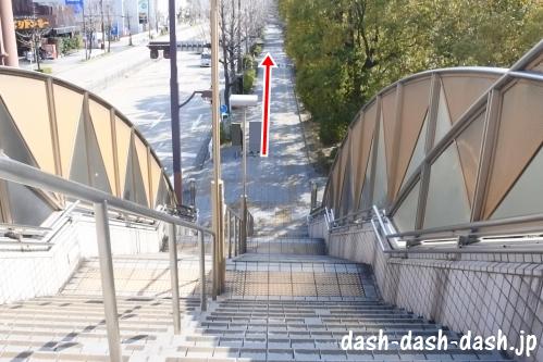 ナゴヤドームからJR大曽根駅(南口)の行き方03