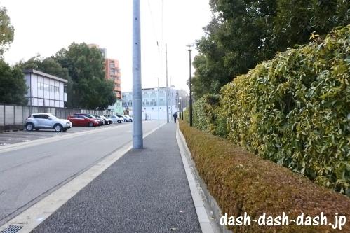 ナゴヤドームからJR大曽根駅(南口)の行き方05