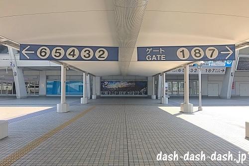 ナゴヤドーム前矢田駅からナゴヤドームの行き方03