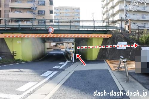ナゴヤドームからJR大曽根駅(南口)の行き方06