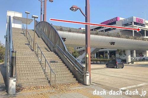 JR大曽根駅(南口)からナゴヤドームの行き方06