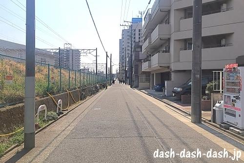 JR大曽根駅(南口)からナゴヤドームの行き方03