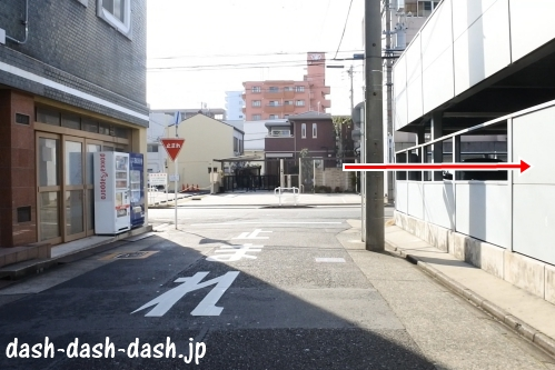 ナゴヤドームからJR大曽根駅(南口)の行き方08