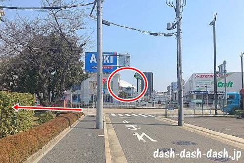 JR大曽根駅(南口)からナゴヤドームの行き方05