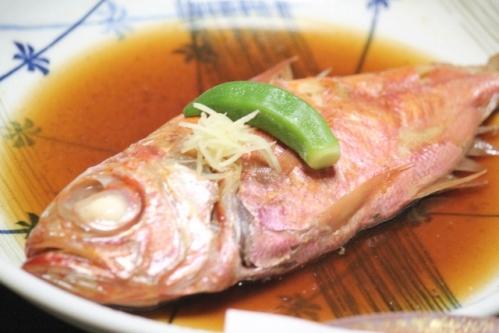 金目鯛(キンメダイ)の煮付け