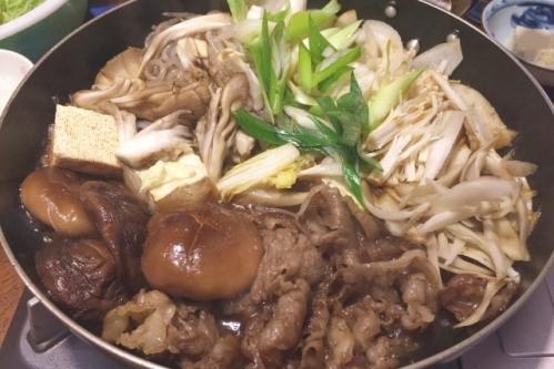 すき焼き(関西風)