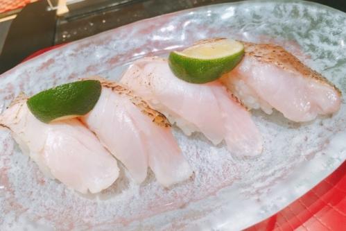 のどぐろ炙り寿司