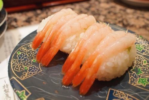 甘えびの握り寿司