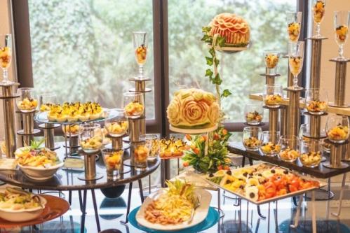 結婚式の料理(ブッフェ・ビュッフェ)