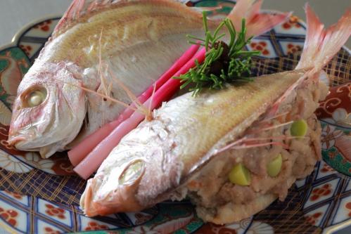 鯛の唐蒸し(農林水産省)