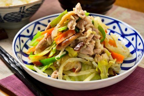 肉野菜炒め(大盛り)