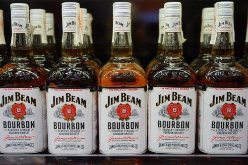 バーボンウイスキー(JIM BEAM)